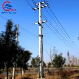 400kv Hot DIP Galvanized Powder Coated Power Transmission Tower Double Circuit Steel Tower