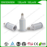 50W 6kv Surge Protection 160lm/W 150W/175W HID Replacement LED Corn Bulbs for Area /Bollard Pathway