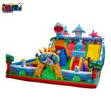 2019 Hot Amusement Park Ocean Shark Jumping Animal Castle Combo Toy Inflatable Bouncer