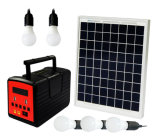 World Bank Qualified Solar Home Lighting System with 10W/30W and Mobile Phone Charging and Run Fan& TV