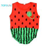 European and American Baby Kids Summer Sleeveless Triangle Garment Superman Cartoon Pure Cotton Indoor or Outdoor Product Clothing Goods