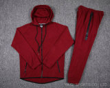 Mens Red Contrast Tracksuit Wholesale High Quality Slim Fit Tracksuits for Men Active Wear Wholesale in Bulk