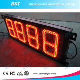 Red Outdoor LED Gas Price Changer Sign