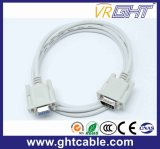 Female/ Male 9pin VGA dB Computer Cable
