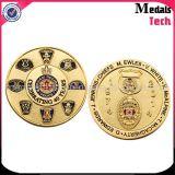Shenzhen Manufacture Cheap Custom Metal Navy Police Challenge Coins