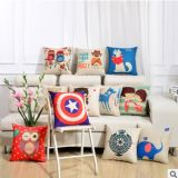 Fashion Christmas Decorative Case Linen Cotton Cushion 4