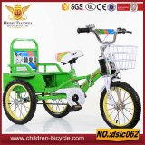 Directly Selling Plastic or Steel Basket Tricycle for Child 3-10years