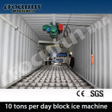 10ton/Day Containerized Brine System Ice Block Machine