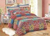 Best Selling Cheap Microfiber Summer Ultrasonic Quilt Bedspread Bedding Set