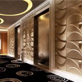 Interior Wall and Ceiling Decoration Bagasse Acoustic 3D Wall Panel Art