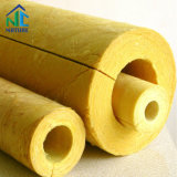 Size Customized Inner Dia 18-90 100-200 200-900 mm Rock Mineral Wool Heat Resistant Insulation Rock Wool Pipe/Tube
