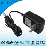 9V/1A/9W AC/DC Switching Power Adapter Supply with PSE Certificate