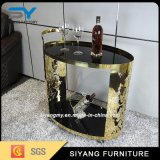 Chrome Steel Wire Dining Wine Trolley