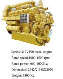 1000kw Diesel Engine for Generator Use