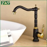 Flg Washroom Single Handle Oil Rubbed Bronze Bath Vessel Faucet