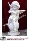 Hand Carved Marble Angel with Wings (SK-2495)