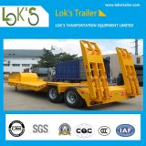Hot Sale 12m Three Axle Lowbed Trailer