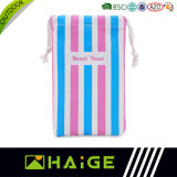 China Wholesale Microfiber Striped Water Sports Quick Dry Beach Towel