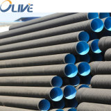 Large Diameter HDPE Double Wall Corrugated Drainage Pipe for Salt Industry Brine Conveyance
