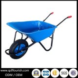 Wb5009 Garden Tool Cart Wheelbarrow Ruuber Wheel Barrow