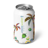 330ml Canned Coconut Water Original -Vietnam Manufacturer-OEM Fruit Juice-From Rita Brand