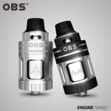 2017 New Products 5.3ml Obs Engine Nano Rta E Cigarette Tank