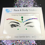 2018 China Supplier Skin Safe Bling Party Eye Stickers White Studs Body Jewels Face Stickers (E11)