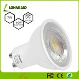 Natural White (5000K) 6W 7W GU10 MR16 LED Spotlight with Ce RoHS Listed