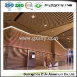 2018 Fashionable Suspended Aluminum Baffle Ceiling for Decoration