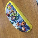 Silicone Pencil Bag with Cartoon Printing for Kids