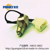 Brake Light Control Switch/Reverse Switch. Product Model: Mk14-0001, Model: Geely/Zyj, Japan/Ec7/Ec8/Panda, and So on.