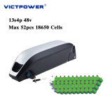 48V 13.6ah Downtube Lithium Battery 13s4p 652wh Battery Pack