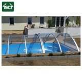 Retractable Pool Cover with Aluminium Alloy and PC Board