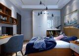 Modern Laminated Sliding Door Wooden Bedroom Wardrobe