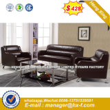 Office Sofa Modern Leather Home Wooden Sofa Sets (HX-S256)