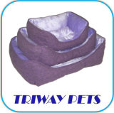 Printed Cheap Dog Cat Pet Bed (WY1204031-2A/C)