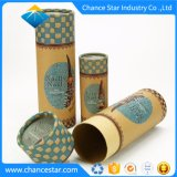 Custom Christmas Gift Packing Thick Paper Cylinder Box
