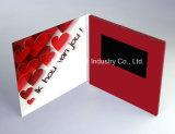 7.0 Inch Heart Video Brochure, Digital Invitation Card, LCD Greeting Card