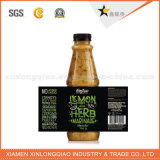 Competitive Price Custom PVC Rubber Printing Label for Sauce Bottle
