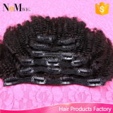 Wholesale Remy Human Hair Extension 7PCS 120g Pre Colored Clip Hair