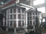 Durable Steel Structured Industrial Furnace for Melting Zinc