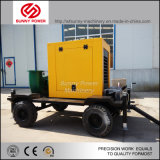 Agriculture Irrigation Diesel Water Pump Set with Trailer for Sale