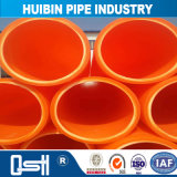 High Density Urban Water Distributor System Plastic Single Wall Pipe