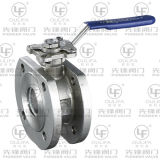 Wafer Thin Ball Valve with Direct Mounting Pad (PSQ72F-16P)