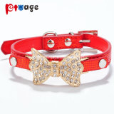 Pet Supply PU Collars Decorations Leather Collar Dog Collar