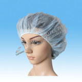 Non-Woven Fabric Food Processing Cooker's Protective Health Disposable Bouffant Cap