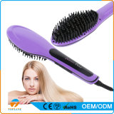 New Fashion Electric Brush Hair Straightening Auto Comb with LCD Temperature Display Us or EU Plug Choose