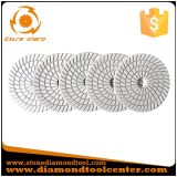5 Steps Diamond White Flexible Resin Wet Polishing Pads