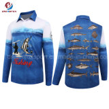 Wholesale Sportswear Custom Dry Fit Fishing Jersey Long Sleeve Sublimated Fishing Shirts