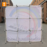 Advertising Trade Show Booth Straight Pop up Wall Display